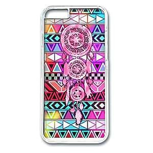 iPhone 6 Cases, iPhone 6 Case, Azetc Pattern and Dream Catcher Art Case for iPhone 6 -- Transparent Plastic Case