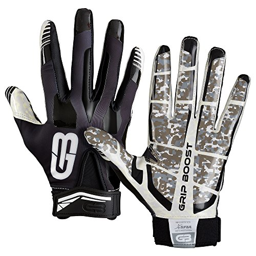 Grip Boost Stealth Football Gloves Pro Elite