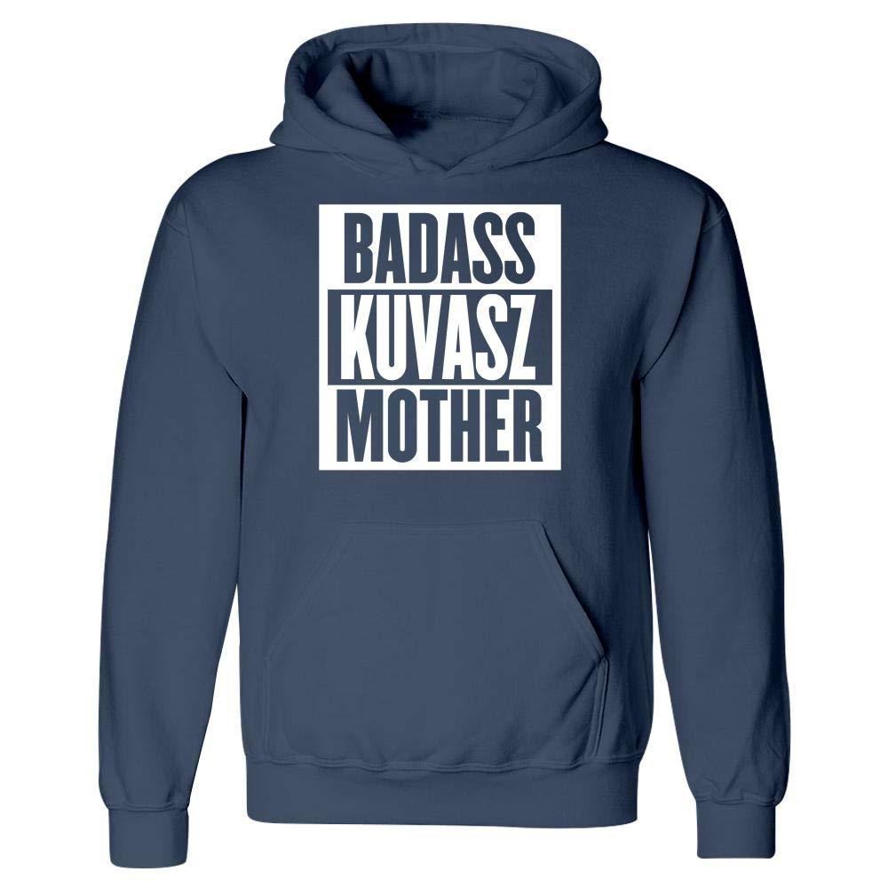 Badass Kuvasz Mother Dog Lovers Hoodie