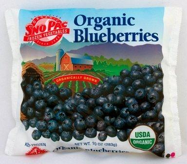 Organic Frozen Blueberries, 10 oz  Bag