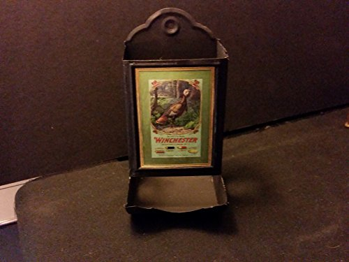 (Vintage Style Winchester Tin Matchbox Holder ..Handcrafted by Artist...Nice Gift)