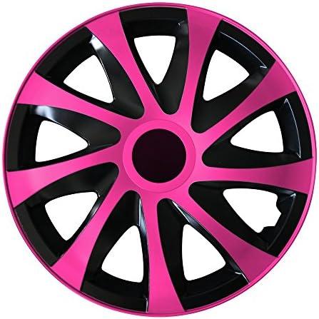 Autoteppich Stylers 14 Zoll Radkappen Typ4 Aktion Schwarz Pink Farbe Und Größe Wählbar Auto