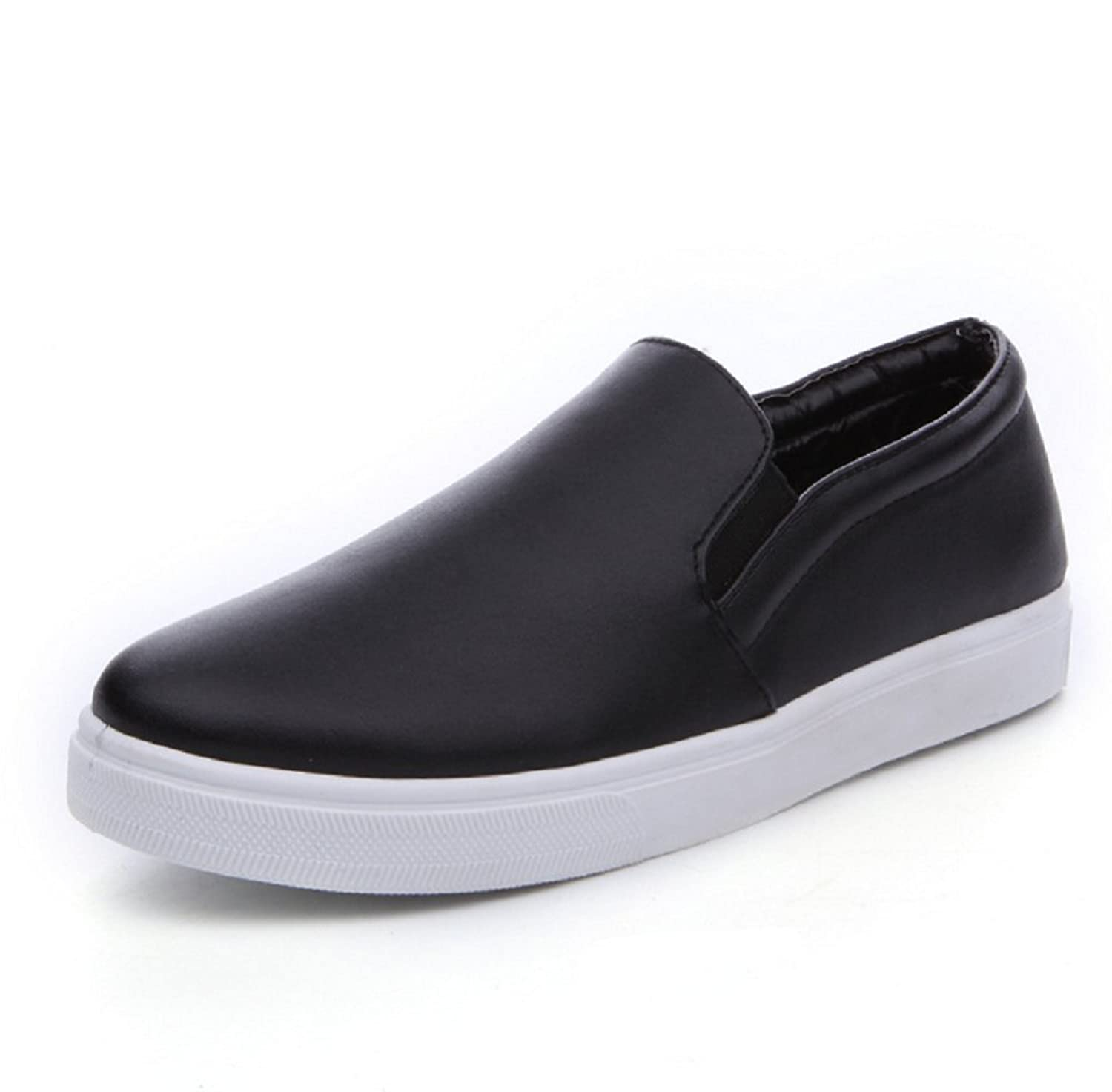 df640be2 LOVEBEAUTY Women's Solid Color Fashion Sneakers Slip On ...