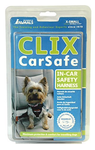 The Company of Animals - CLIX CARSAFE Dog Harness - Multi-Purpose Car Seat Belt and Walking Harness - Easy, Adjustable, Secure and Safe - X-Small by The Company of Animals (Image #6)