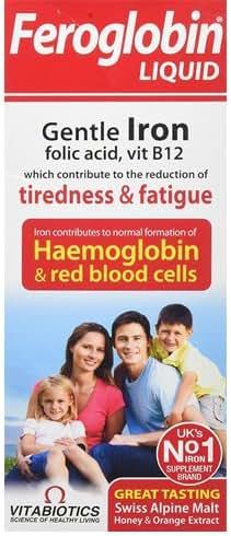 Vitabiotics Organic Feroglobin Liquid 500ml