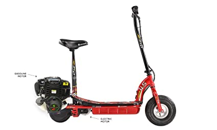 Amazon.com: eZip 4.5 Gas & Electric Scooter (Hybrid): Sports ...