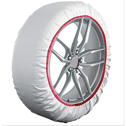 HABILL-AUTO Chaussettes Neige Textile Premium 185 70 R17-215 60 R17-215 65 R17-225 60 R17