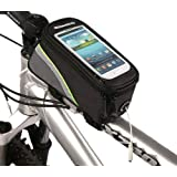 ROSWHEEL フレームバッグ 自転車 サイクリング イヤホンホール付