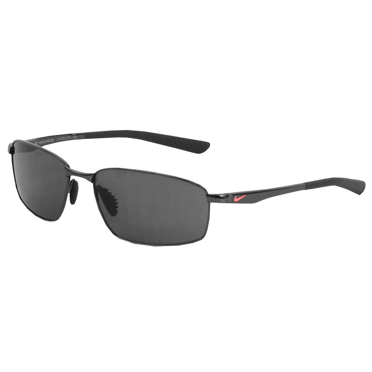 Nike Avid SQ Sunglasses (Black Frame, Grey Lens)