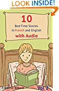 10 Bed-Time Stories in French and English with audio. French for Children