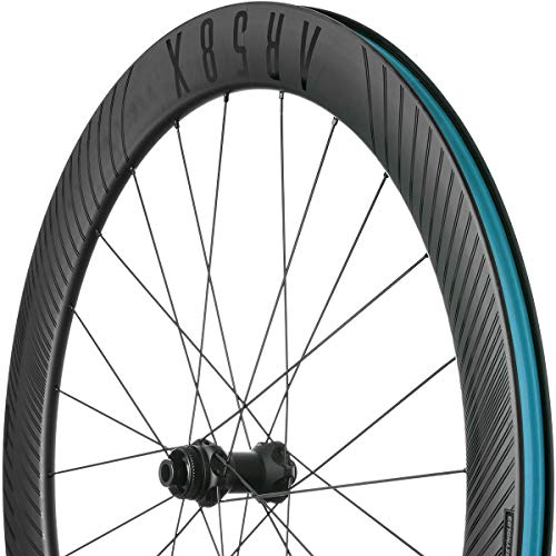 (Reynolds 58/62x Carbon Disc Wheelset - Tubeless Black, Shimano, 11 Speed)