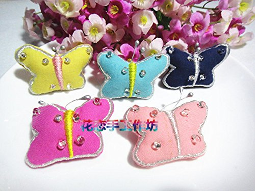 d Korean cute handmade cloth beaded embroidery three-dimensional brooch pin brooch children's clothing with accessories ()