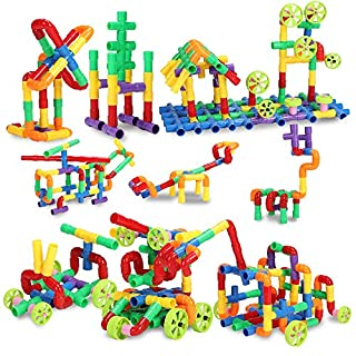 STEM Building Blocks Toy, Educational Toddlers Toy Kit, Building Blocks for Boys and Girls – Creativity Kids Toys