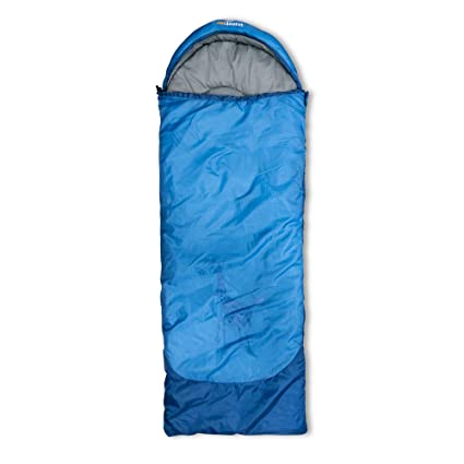Outdoorer Dream Express, color azul - saco de dormir para niños