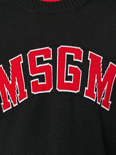 Ropa Msgm 2540mm14118477699 Viscosa Negro Hombre w0YqwBv