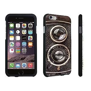 DuroCase ? Apple iPhone 6 Plus - 5.5 inch Hard Case Black - (Vintage Camera)