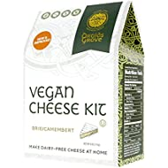 Druids Grove Vegan Brie Kit (Nondairy Cheese) ☮ Vegan ⊘ Non-GMO ❤ Gluten-Free ✡ OU Kosher Certified