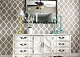 Rabat Wall Stencil - Large - Reusable Moroccan Stencils for sale  Delivered anywhere in USA