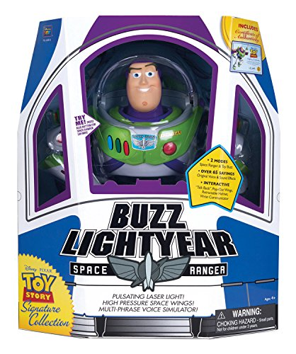 MTW Toys 64011 - Disney Pixar Toy Story - Action Figur Buzz Lightyear, 22 x 30 x 13 cm