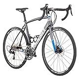Diamondback Bicycles Century 1 Road Bicycle, Silver, 52cm/Small