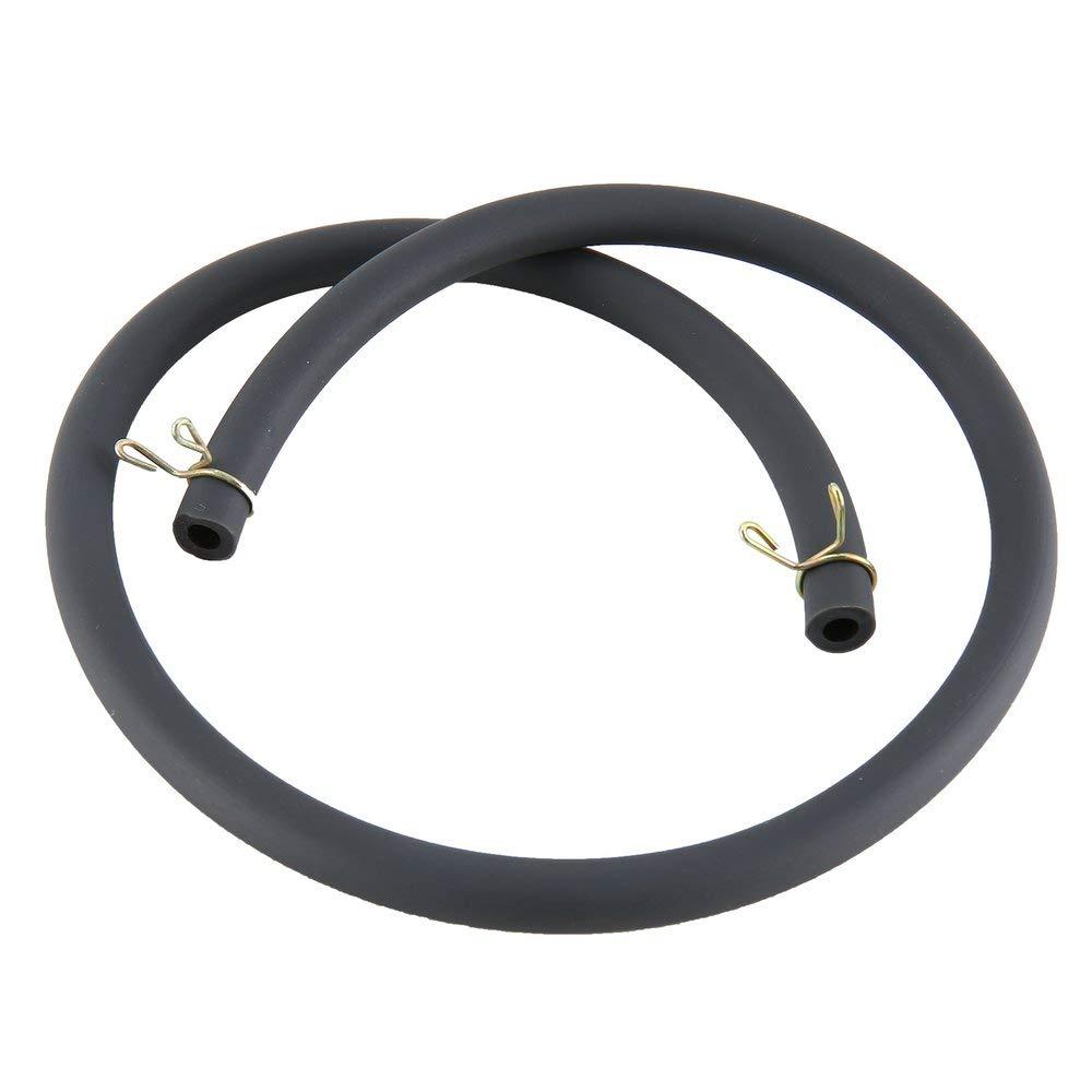 Emily 50cm Fuel tube Motorcycle Bike ATV Gas Oil Tube Hose Line 4.5mm*8mm Accessory black