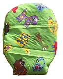 Drainable Stoma Cover Ostomy Bag Cover Dinosaur Green