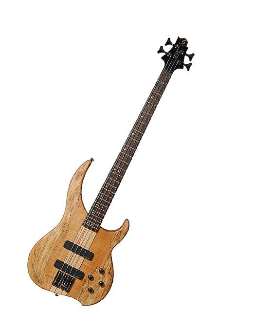 Samick Greg Bennett diseño Aston Martin DB5 edición limitada Bass guitarra, llama arce: Amazon.es: Instrumentos musicales