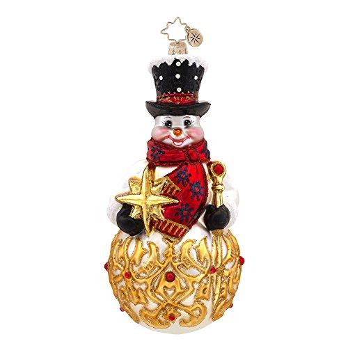 Christopher Radko Frosty Finial Christmas (Radko Finial)