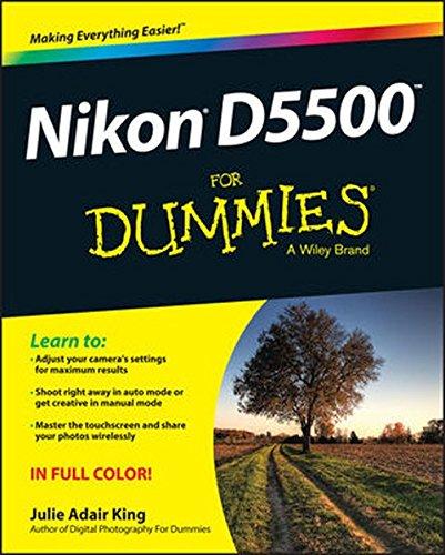 Nikon D5500 For Dummies cover
