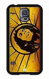 iZERCASE Samsung Galaxy S5 Case Bob Marley Rastafari Reggae Colors RUBBER - Fits Samsung Galaxy S5 T-Mobile, AT&T, Sprint, Verizon and International BY RANDLE FRICK by heywan