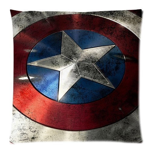 The Avengers Captain America Shield Custom Design Pillowcase Pillow Sham Throw Pillow Cushion Case Cover Two Sides Printed 18x18 Inches Buy Online In Albania At Albania Desertcart Com Productid 13123729