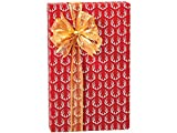 Deer Antlers Stone Wrap 30''x417' Gift Wrap Counter Roll (Unit Pack - 1)