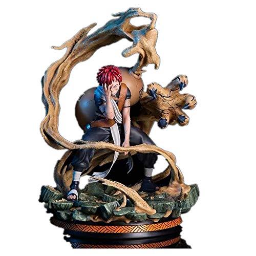 Anime Naruto Kazekage Gaara Statue Collectible Figurines Model (Color Box)