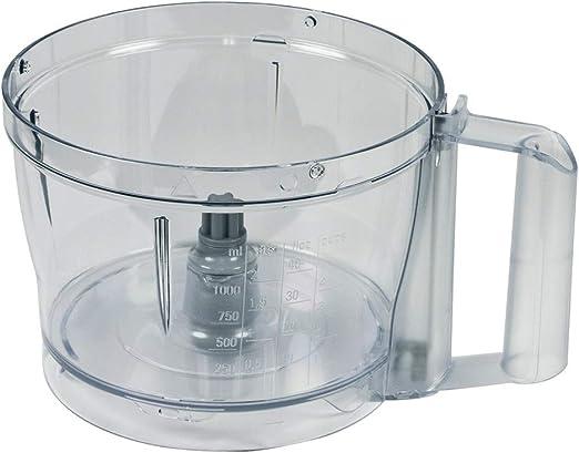 Recipiente de mezcla Siemens de Bosch 12009553 Recipiente de plástico para procesadores de alimentos MCM3110W/01 a.o.: Amazon.es: Hogar