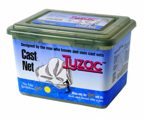 Betts 4N5-I Tyzac Nylon Cast Net 5-FeetBoxed 1/4-Inch Mesh 3/4-Pound Iron (Nylon Cast Nets)
