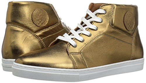 Pictures of Vince Camuto Boys' GRADIE2 Sneaker Gold 3 Gold 3 M US Little Kid 4