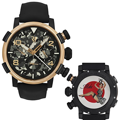 Romain-Jerome-Pinup-DNA-Gold-WWII-Mila-Stripes-Chronograph-Auto-RJPCH00301