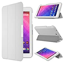 Acer Iconia One B1-770 Case - IVSO Slim Smart Stand Cover Case for Acer Iconia One B1-770 7-Inch Tablet(White)