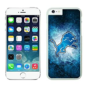 Iphone 6 Cover Case Detroit Lions iPhone 6 5.5 Inches Cases 07 White TPU Protective Phone Case