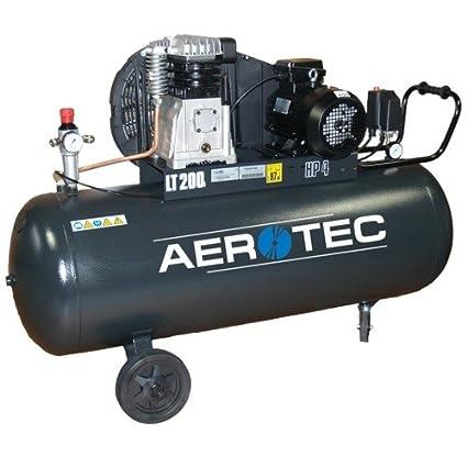 Compresor 600 – 200 B38 Aerotec 200 L polvo