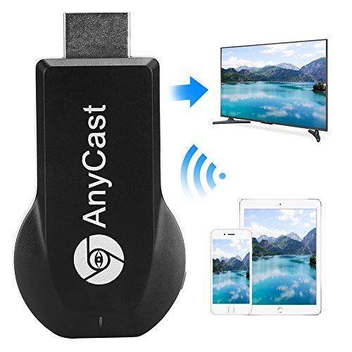 Toneseas 1080P Hdmi Adapter Wireless Display  Miracast Dongle  2 4G Streaming Media Share Player  Mirroring Receiver Tv Stick  Airplay Dina For Iphone Ipad Macbook Samsung Lg Android Smart Phones