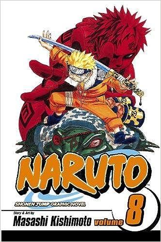 Amazon.com: Naruto, Vol. 8: Life-and-Death Battles ...