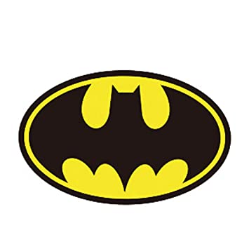 pegatina de pared Batman sticker Batman Cosplay Anime Cartoon Logo ...