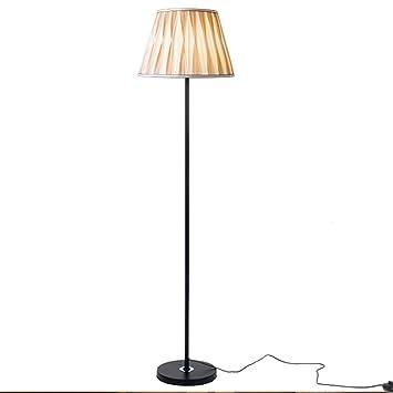 NAUY- Moderno Romántico Simple Lámpara De Pie Caliente Salón ...