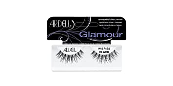 02f5ebb6c40 Ardell Fashion Lashes Pair - Wispies (Pack of 4) black ... - Amazon.com