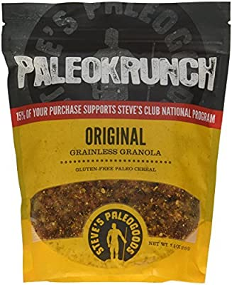 Paleokrunch Cereal Original Grainless Granola, 7.5 oz by Steve's PaleoGoods