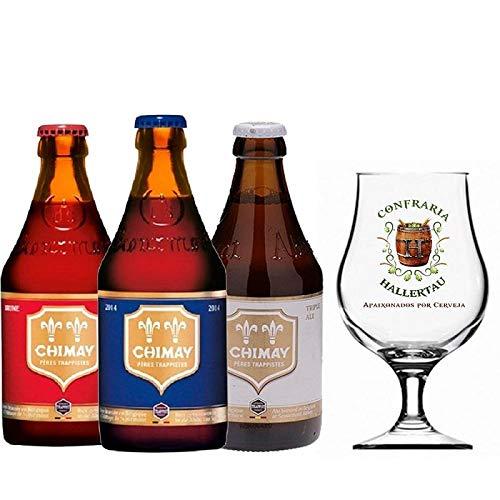 Cervejas Chimay Rótulos Taça Hallertau