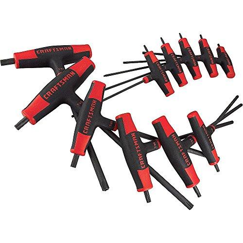 Craftsman 9-87647 T-Through Torx Driver Set, 11 Piece