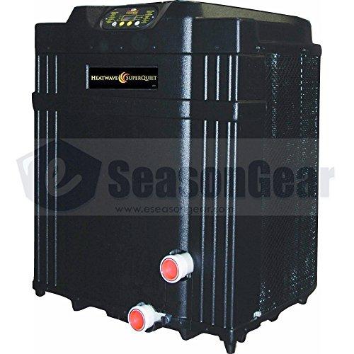 AquaCal HeatWave SuperQuiet SQ110R Heat Pump 91,000 BTU, Heat and Cool, SQ110ARDSBNN, 690449053721