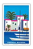 Enjoy a taste of the Golden Age of Travel with these beautiful Fine Art Prints by Pacifica Island Art. This print will look wonderful framed in the home, office or restaurant and is perfect for the Travel Poster art collector. GUY GEORGET (1911-1992)...
